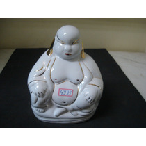 #4993# Buda Pequeno De Porcelana Filetada