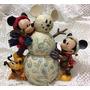 Minnie E Boneco De Neve Coleção Disney Traditions Jim Shore