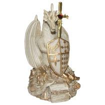Guardião Da Riqueza Marfim - Espada - Escudo