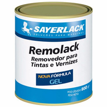 Removedor De Tinta E Verniz - Remolack Gel Sayerlack