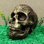 Crânio Caveira Tribal - Resina