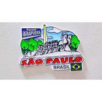 Imã Geladeira Ibirapuera S Paulo Brasil/ Lembranças/souvenir