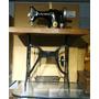 Miniatura Metal Maquina Costura Singer Antiga Retro 40 Cm