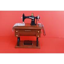 Miniatura Maquina Costura Singer Antiga Retro