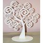 Árvore Decorativa Em Mdf - 6mm - Corte À Laser