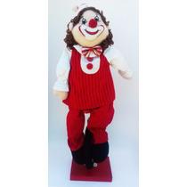 Palhaço Malabarista Acrobata Boneco Brinquedo-decoração Fest