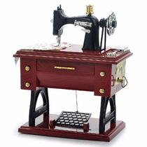Caixa De Música - Máquina De Costura Miniatura