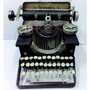 Máquina De Escrever Antiga Em Metal Retrô 21 Cm