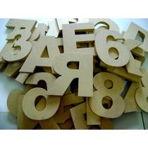 Letras Em Mdf Cru, 18mm Texto, Letras Vazadas Decoração
