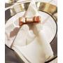 50 Porta Guardanapos Laço Chanel Gorgurão N5 Festa Casamento