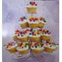 Porta Cupcakes Suporte Metal De Mesa 23 Cupcake Stand Mts144