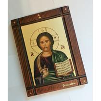 Ícone Jesus De Jerusalem - Produto Exclusivo