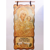 Pergaminho Maria Jerusalem E Jesus- Produto Exclusivo