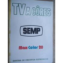 Livro - Catálogo Tv A Cores - Semp - Max Color 20