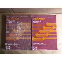 Mecânica Vetorial Para Engenheiros Volumes 1 E 2 - 3ª Edição
