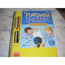 Inglês Playng In English 2º Ano - Livro Do Professor