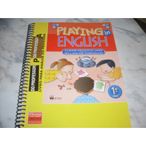 Inglês Playng In English 1º Ano - Livro Do Professor