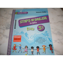 Inglês Steps In English Kids 5º Ano- Livro Do Professor