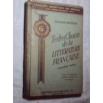 Textes Choisis De La Littèrature Française (sebo Amigo)