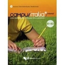 Livro Campus Italia, Editora Guerra, Aprenda Italiano + Cd