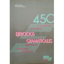 Livro 450 Exercícios Gramaticais Em Espanhol