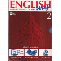 Curso English Way Vol. 2 ( Livro, Cd E Dvd )