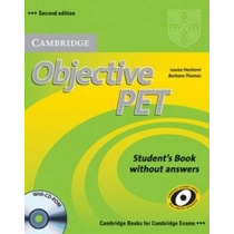 Livro Objective Pet Student Book Second Edition Cambridge