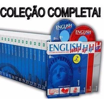 English Way 24 Cds, 24 Dvds E 24 Ebooks - Coleção Completa