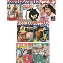 Lote 5 Revistas Speak Up - Novas E Lacradas + 2 De Brinde