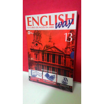 Livro, Cd, Dv English Way Vol 13 O Curso De Inglês Da Abril