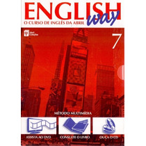 English Way - Vol 7 - O Curso De Inglês Da Abril