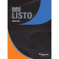 Nuevo Listo - Español - Livro + Caderno De Exames