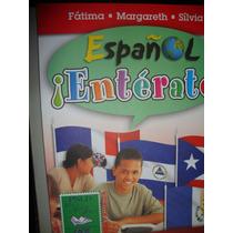 Livro Español Entérate! 9º Ano (com Cd) - Fátima, Margareth