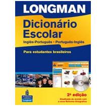 Dicionário Longman Escolar Inglês-português C/ Cd - Novo