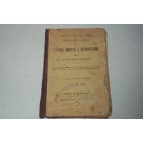 Livro Leituras Morais Instrutivas 3º Vol Serie Rangel Pestan