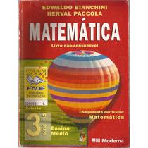 Matemática Edwaldo Bianchini 3º Em