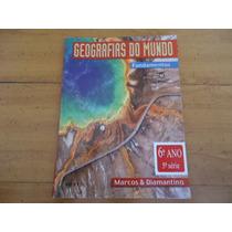 Livro Escolar Geografias Do Mundo, 6º Ano, Do Professor