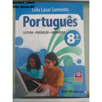 Livro Português 8º Ano Leila Lauar Sarmento R