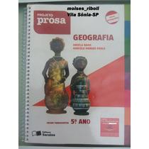 Livro Do Professor Projeto Prosa Geografia 5º Ano O