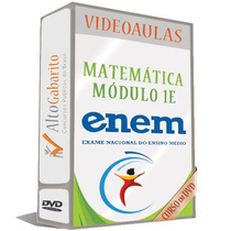 Módulo Matemática 1e - Enem Vídeo Aulas Dvds