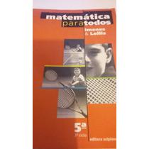 Matemática Para Todos 5 Ano 3 Ciclo
