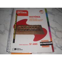 História Projeto Prosa 5º Ano- Livro Do Professor