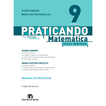 Praticando Matemática 9º Ano Edição Renovada - Frete Gratis