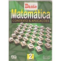 Livro Matemática Conceito & Aplicações 2ª Edição Vol.1 2002