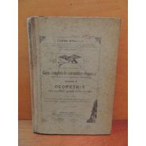 Livro Matemática Elementar Geometria Liberato Bittencourt