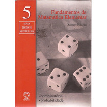 Livro Fundamentos De Matemática Elementar Vol.5 Ano 2004