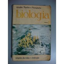 Livro Biologia Volume 1 - Origem Da Vida E Citologia