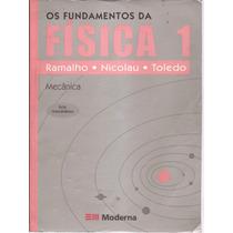 Livro Os Fundamentos Da Física Vol. 01 8ª Edição 2006