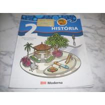 Livro: História 2 Projeto Buriti-editora Moderna