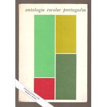 Livro Antologia Escolar Portuguesa - Marques Rebelo